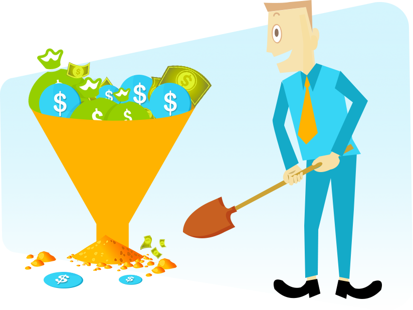 Cash In Sales Funnel